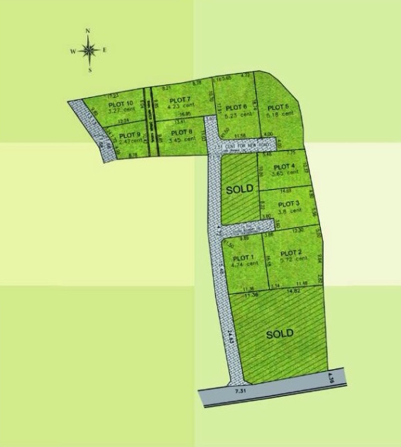 Land for Sale in Edappally